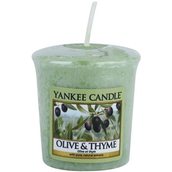 Yankee Candle Olive & Thyme Votive Candle 49 g