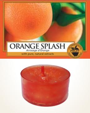 Yankee Candle Orange Splash čajová svíčka vzorek 1 ks