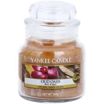 Yankee Candle Oud Oasis vonná svíčka 104 g Classic malá