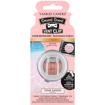 Yankee Candle Pink Sands Vůně do auta 4 ml clip