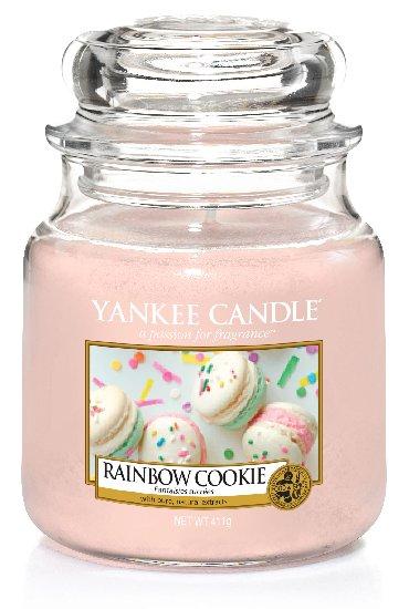 Yankee Candle Rainbow Cookie vonná svíčka 411 g Classic střední