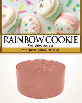 Yankee Candle Rainbow Cookie Tealight Candle sample 1 pcs