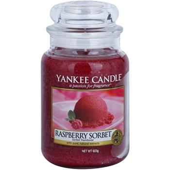 Yankee Candle Raspberry Sorbet vonná svíčka 623 g Classic velká
