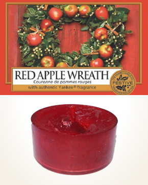 Yankee Candle Red Apple Wreath Tealight Candle sample 1 pcs