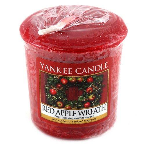 Yankee Candle Red Apple Wreath votivní svíčka 49 g