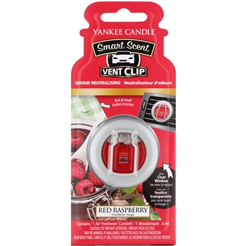 Yankee Candle Red Raspberry Vůně do auta 4 ml clip
