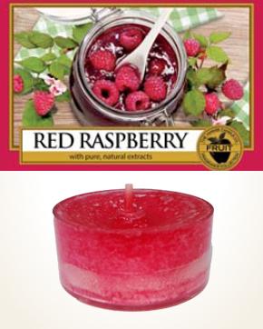 Yankee Candle Red Raspberry čajová svíčka vzorek 1 ks