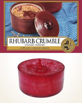 Yankee Candle Rhubarb Crumble Tealight Candle sample 1 pcs