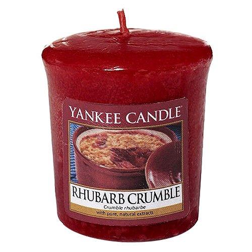 Yankee Candle Rhubarb Crumble votivní svíčka 49 g