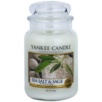 Yankee Candle Sea Salt & Sage vonná svíčka 623 g Classic velká