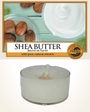 Yankee Candle Shea Butter Tealight Candle sample 1 pcs