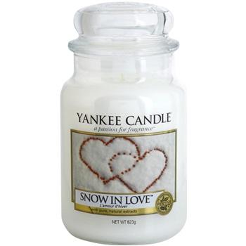 Yankee Candle Snow in Love vonná svíčka 623 g Classic velká