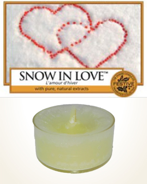 Yankee Candle Snow in Love Tealight Candle sample 1 pcs