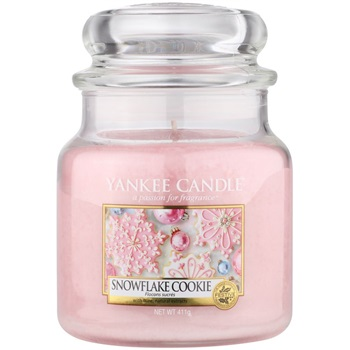 Yankee Candle Snowflake Cookie vonná svíčka 411 g Classic střední