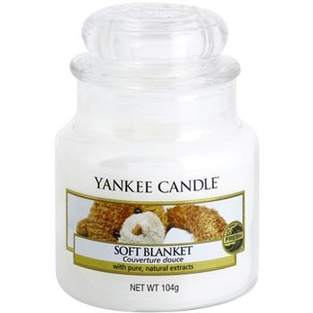 Yankee Candle Soft Blanket vonná svíčka 104 g Classic malá