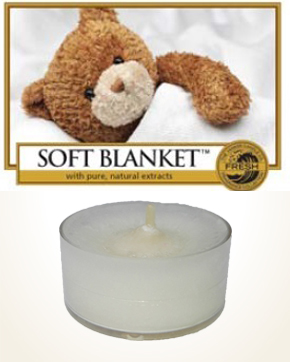 Yankee Candle Soft Blanket Tealight Candle sample 1 pcs