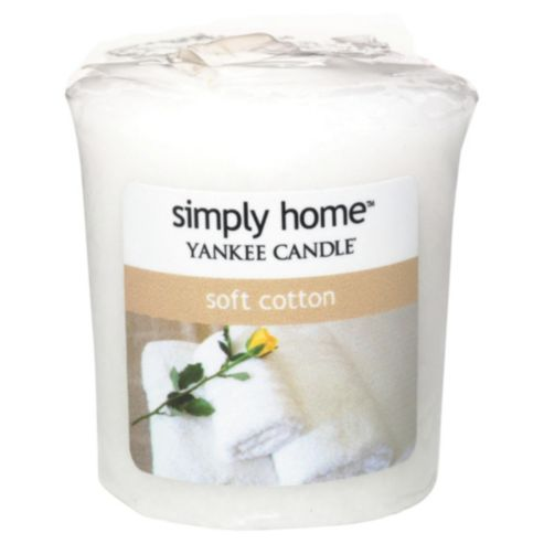 Yankee Candle Soft Cotton Votive Candle 49 g