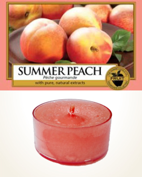 Yankee Candle Summer Peach Tealight Candle sample 1 pcs