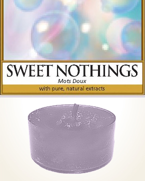 Yankee Candle Sweet Nothings Tealight Candle sample 1 pcs