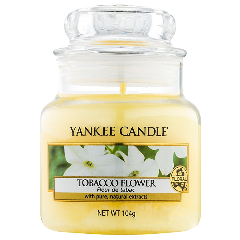 Yankee Candle Tobacco Flower Scented Candle 104 g Classic Mini