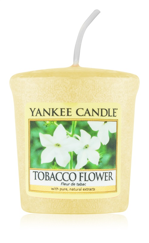 Yankee Candle Tobacco Flower Votive Candle 49 g