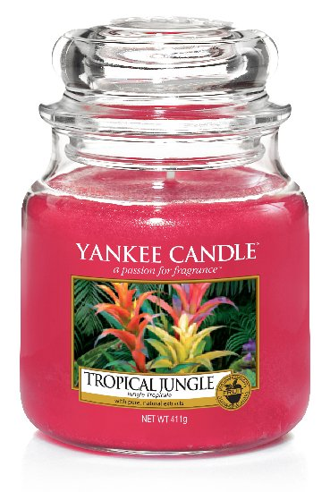 Yankee Candle Tropical Jungle Scented Candle 411 g Classic Medium