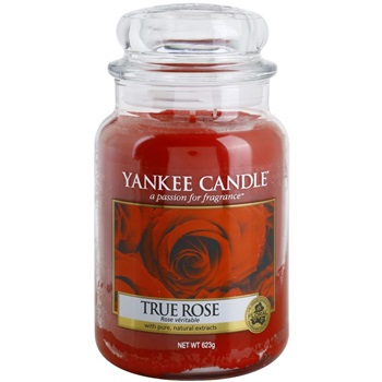 Yankee Candle True Rose Scented Candle 623 g Classic Large