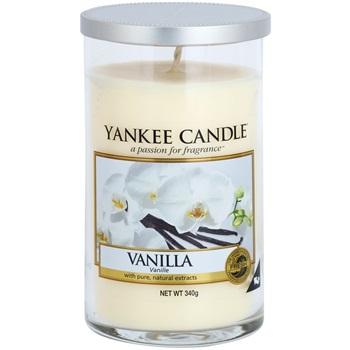 Yankee Candle Vanilla vonná svíčka 340 g Décor střední