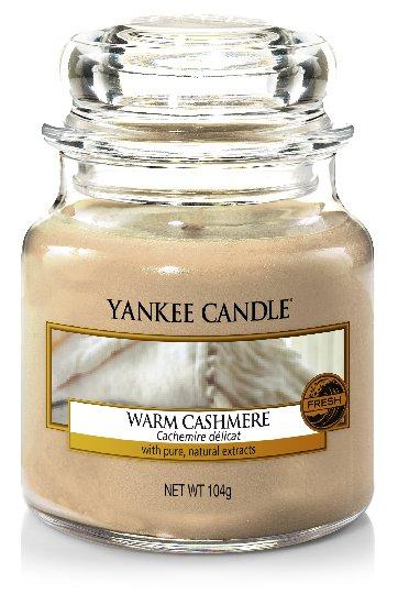 Yankee Candle Warm Cashmere vonná svíčka 104 g Classic malá