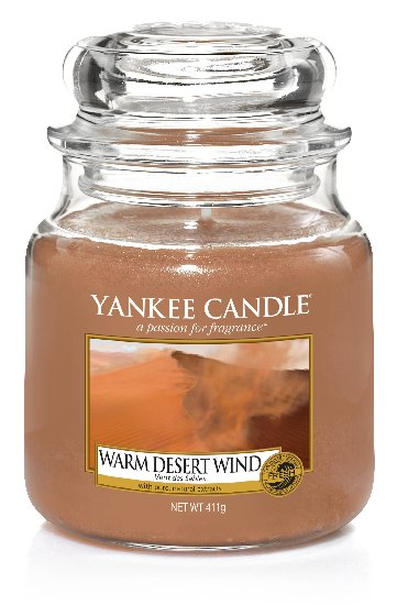 Yankee Candle Warm Desert Wind Scented Candle 411 g Classic Medium