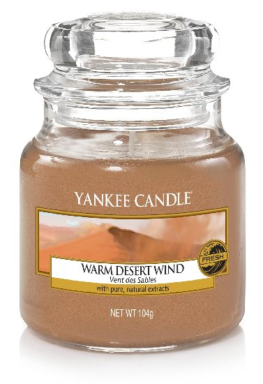 Yankee Candle Warm Desert Wind Scented Candle 104 g Classic Mini