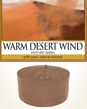 Yankee Candle Warm Desert Wind Tealight Candle sample 1 pcs