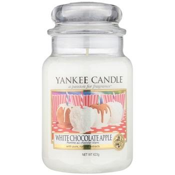 Yankee Candle White Chocolate Apple vonná svíčka 623 g Classic velká