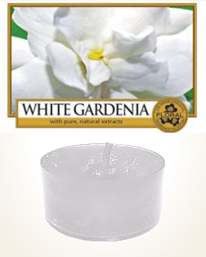 Yankee Candle White Gardenia Tealight Candle sample 1 pcs