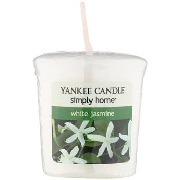 Yankee Candle White Jasmine votivní svíčka 49 g