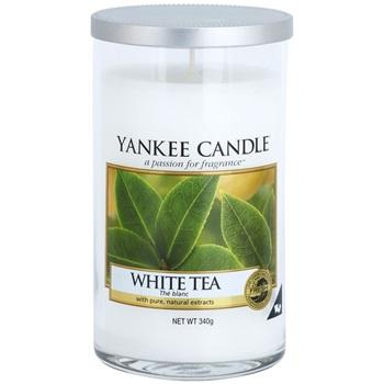 Yankee Candle White Tea vonná svíčka 340 g Décor střední