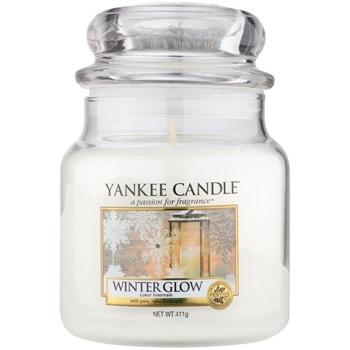 Yankee Candle Winter Glow vonná svíčka 411 g Classic střední